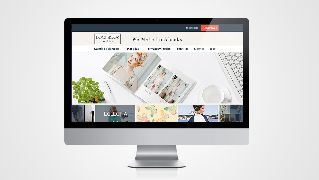 lookbook atelier web responsive branding design ls